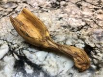 Coffee Scoop-Spalted Apple